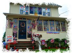 fourth of july house decor