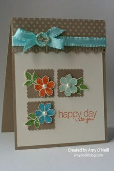 i STAMP by Nancy Riley: iPICKS #220  SU SAB 2013, Bloomin' Marvelous & Friendly Phrases stamp sets