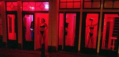 Red Light District, Amsterdam, interesting night life, totally different during the day