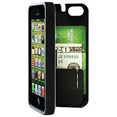 Amazon.com: EYN (Everything You Need) Smartphone Case for iPhone 5/5s - Black (eynblack5): Cell Phones & Accessories