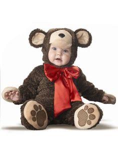 Lil' Teddy Bear Infant Costume