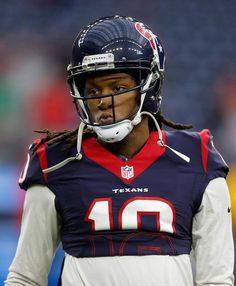 DeAndre Hopkins during a match against Kansas City Chiefs at NRG Stadium on January 9, 2016...