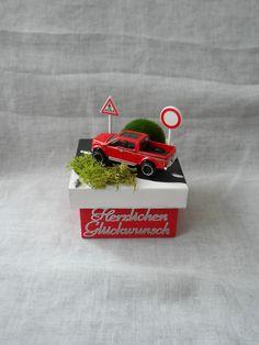 Geschenkbox / Geldgeschenk  Führerschein, Auto von Jessis Bastelecke auf DaWanda.com