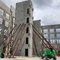 Tilt-up construction lig forming & shoring