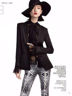 magazine-photoshoot : Du Juan HQ Pictures Vogue China Magazine Photoshoot March 2014
