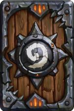 Hearthstone Heroes of Warcraft Warlords Card Back