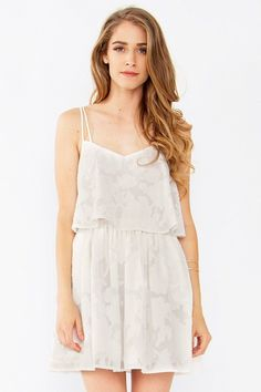 Days of Summer Layered Floral Tank Dress