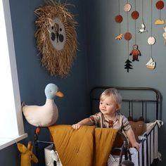 Adorable Vintage Kids Playroom Ideas to Inspire You Nursery Toys, Nursery Wall Art, Nursery Decor, Baby Bedroom, Baby Boy Rooms, Baby Decor, Kids Decor, Boy Room Paint, Nursery Inspiration