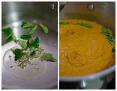Kongu Thakkali Kuzhambu - Tamil style tomato kurma recipe for idli, dosa with coconut. Popular in Coimbatore. With step by step pictures.