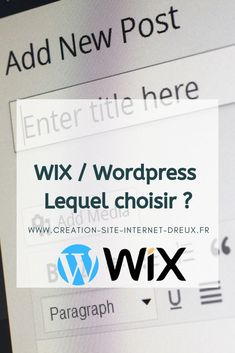 Wix ou Wordpress ? Lequel choisir Site Vitrine, Web Design, Site Web, Seo Tips, First Page, Web Development, Wordpress Theme, Ecommerce, Digital Marketing