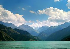 Tianchi (heavenly lake) Urumpqi, China