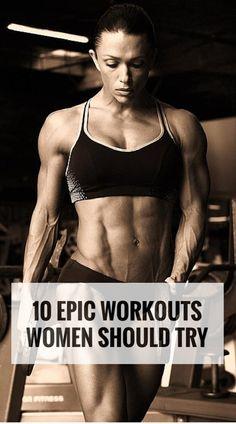 10 Epic Workouts Women Should Try | Medi Kings