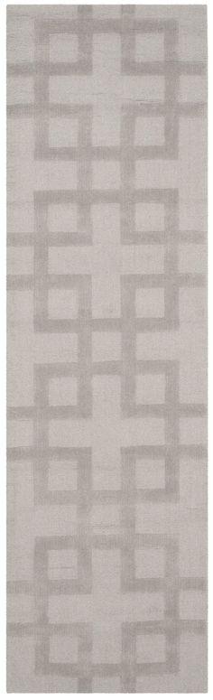 Lamar Hand-Loomed Grey Area Rug
