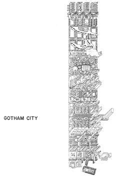 The Urban Block and Gotham City: Metaphors & Metamorphosis Oswald Mathias Ungers, Thomas Davis