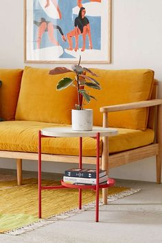 Slide View: 1: Tiered Side Table