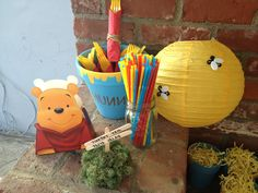 Winnie the Pooh Birthday Party Pack. $150.00, via Etsy.