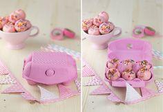 Objetivo: Cupcake Perfecto.: Cake balls de vainilla (con confetti) y pensamient...