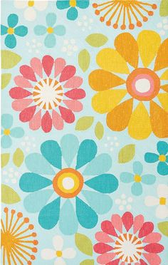 Jaipur Rugs Iconic by Petit Collage - Hand Tufted Spring Flowers Rugs | Rugs Direct