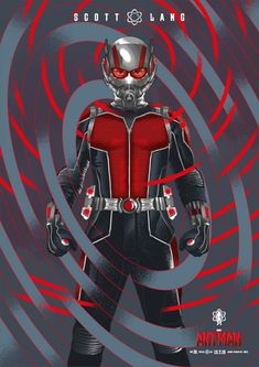 ANT-MAN Poster by Guy Stauber — GeekTyrant