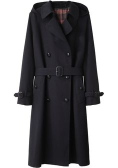 Margaret Howell/ Hooded Wool Trench