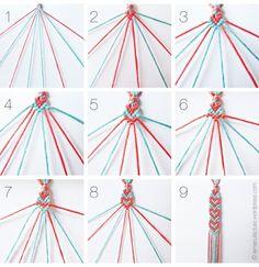 LIST OF TUTORIALS/PICTORIALS TO MAKE BRACELETS.    via OMFG Friendship Bracelets on Tumblr