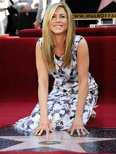 Love her dress...and that she's getting a star on the Hollywood Walk of Fame!!