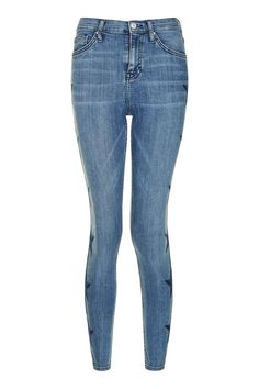 MOTO Star Embroidered Jamie Jeans
