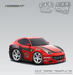 Ferrari Ff Race Car