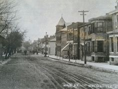 Historic View of Main Street   Waynesville, OH
