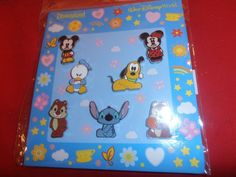 7 Disney Pins Cuties Toddlers Booster Set New As Shown. lot AA