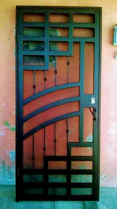 Shipping Furniture From Usa To Australia Referral: 7049633237 Grill Gate Design, Iron Gate Design, Window Grill Design, Main Entrance Door, Entrance Gates, Entry Doors, Wrought Iron Security Doors, Wrought Iron Doors, Wrought Iron Driveway Gates