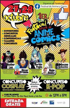 Kagi Nippon He ~ Anime Nippon-Jin: 1er festival de anime y cómic 2017 - Durango, Méxi...