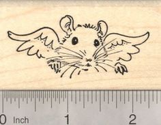 Rat Angel Rubber Stamp Pet Loss Sympathy Mouse -- Read more at the image link. Cartoon Rat, Rat Tattoo, Dumbo Rat, Mouse Pictures, Fancy Rat, Mouse Tattoos, Custom Rubber Stamps, Pet Rats, Iris Flowers