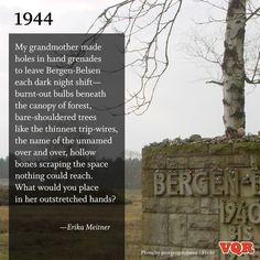 """""""1944"""" by Erika Meitner #poem #poetry"""