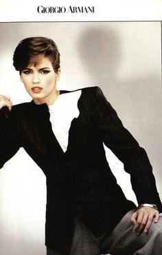 1982 Armani fashion