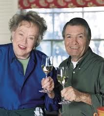"Friends and Master Chefs,Julia Child and Jacque Pepin....of course Julia always called him ""Jack""...too cute!"