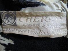 Chéruit label, post 1915?, Wormser & Boulanger