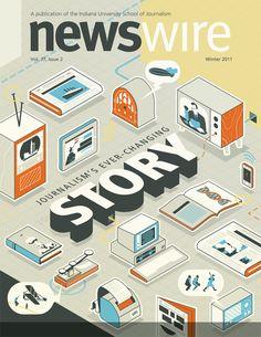 NewsWire Cover by Kurtis Beavers