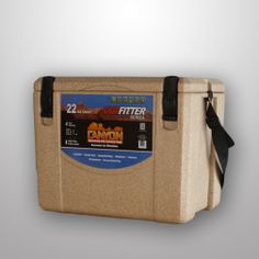Outfitter 22 cooler - Sandstone {During the summer, keep a cooler in your trunk to keep groceries cool on the way home.}