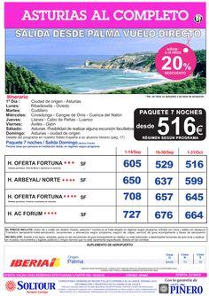 Asturias al Completo, salidas desde Palma de Mallorca - Septiembre y Octubre ultimo minuto - http://zocotours.com/asturias-al-completo-salidas-desde-palma-de-mallorca-septiembre-y-octubre-ultimo-minuto/