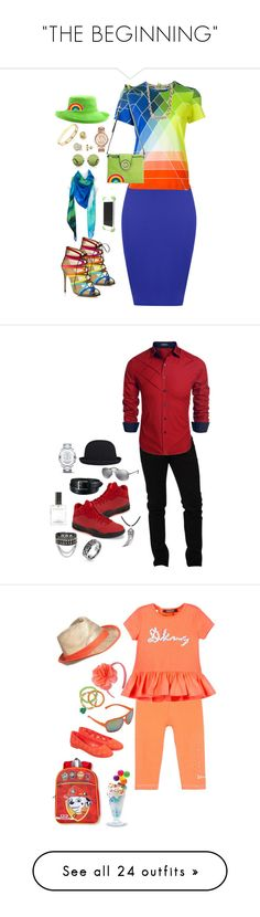 """""""THE BEGINNING"""" by ruffin777 ❤ liked on Polyvore featuring WearAll, Salvatore Ferragamo, Mary Katrantzou, Michael Kors, Minimal, Scala, Victoria, Victoria Beckham, Anya Hindmarch, MICHAEL Michael Kors and Cartier"""