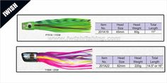 Offshore Fishing Lure Rigging Marlin Soft Fishing Lure Wholesale