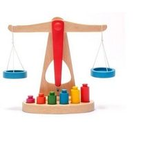 Montessori Educational Wooden Toy Scale Funny Toy Wooden Balance Game Baby Early Developme Learningnt