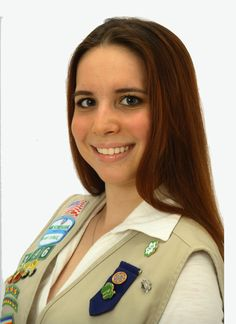"""#GirlScout Emily - Emily worked with What a Difference a Friend Makes to design her project """"Express Yourself.""""  Through Emily's work, adults, teens and adolescents in her community now have information on what to do and where to go if they encounter bullying. #goldaward #gsnc"""