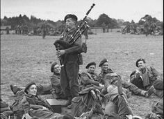 Jack Churchill (1906-1996), British.  Soldier who fought throughout World War II armed with a longbow, bagpipes, and a Scottish broadsword.