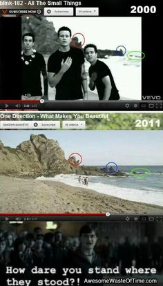 Hmmmm is one direction serious only one group can do that fuckers
