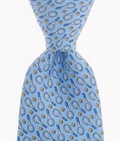 Shop boys ties at vineyard vines Boys Ties, Tennis Fashion, Vineyard Vines, Silk Ties, Prints, Guy, Shopping, Style, Swag