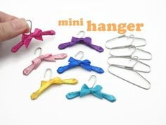 DIY Miniature Doll Mini Clothes Hanger - Easy! - YouTube