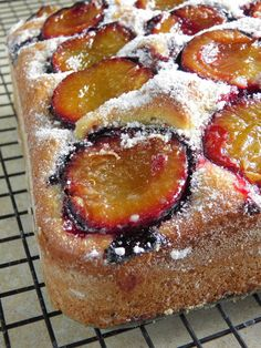 Plum Recipes, Easy Cake Recipes, Baking Recipes, Polish Desserts, Cookie Desserts, Polish Cake Recipe, First Communion Cakes, Coffee Cake, Delicious Desserts