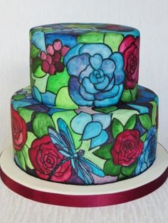 Top Stained Glass Cakes